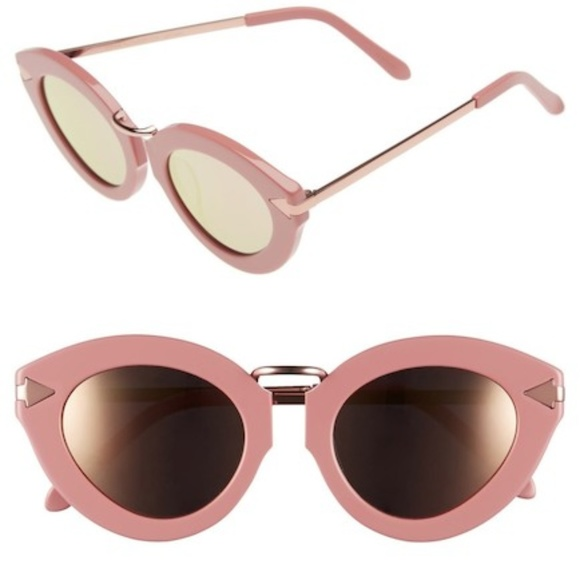 8ad141aa44c3 Karen Walker Accessories | Rose Shiny Gold Lunar Flower Sunglass ...